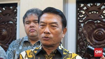 Moeldoko Kepala Staf Kepresidenan : Majunya Gibran dan Bobby Bukan Membangun Dinasti Jokowi