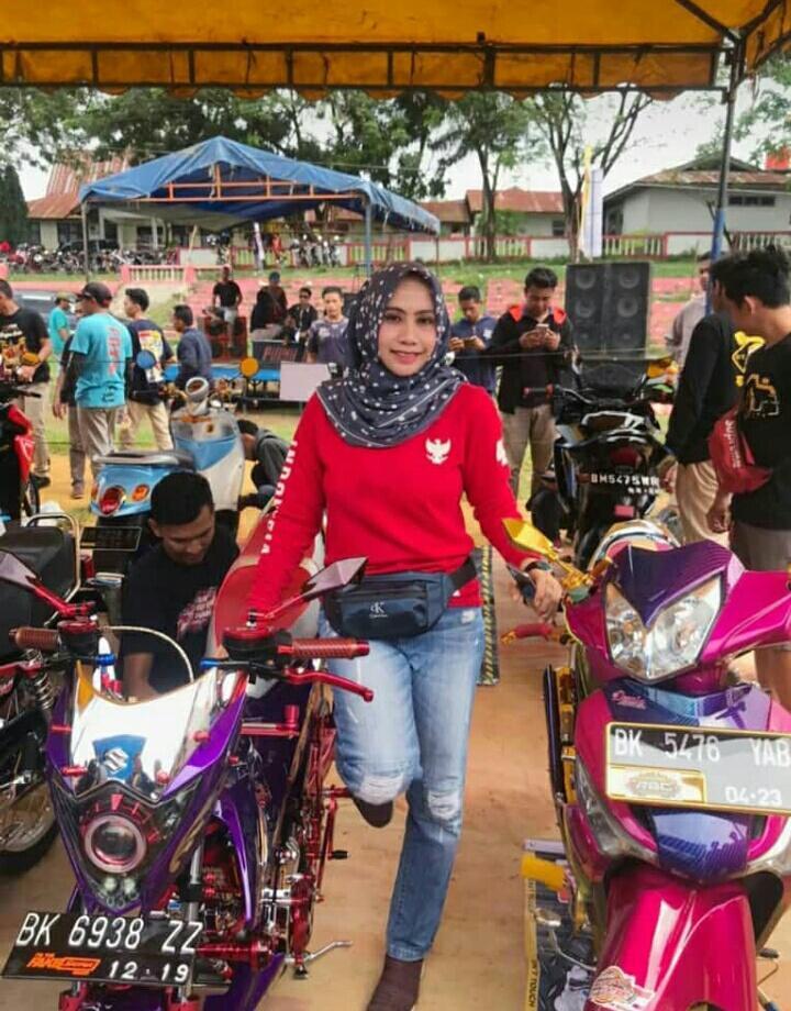 Kontes Modifikasi Sepeda Motor di Pekan Raya Bagan Sinembah, Camat Sampaikan ini..