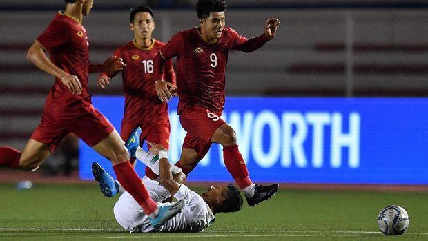Demi menghadapi Timnas Indonesia U23,Vietrnam Menyimpan Tenaga Saat Melawan Kamboja di Babak Semifinal
