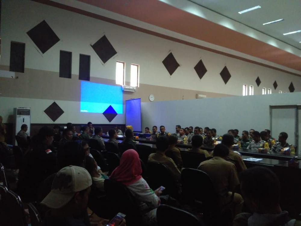 Pembukaan Acara Sosialisasi Sapu Bersih Saber Pungli.