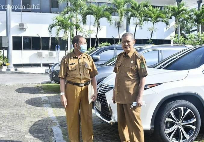 Wakil Bupati H.Syamsuddin Uti Hadiri Rakoor TKPK Provinsi Riau Tahun 2020
