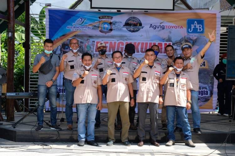 Kepengurusan TLCI Chapter#2 Riau Masa Bhakti 2020-2024 Resmi Dikukuhkan Secara Visual. HM Marwan : Kita Akan Tancap Gas.
