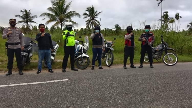 Polres Tembilahan Tetap Rutin Gelar Patroli Anti Begal Meski dalam Suasana Libur