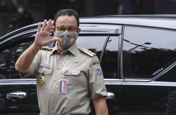 Gubernur DKI Jakarta Anies Baswedan Umumkan Langsung Dirinya Postif Covid-19