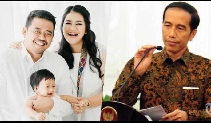 Diproyeksikan Anak Dan Menantu Presiden Jokowi Menang Di Dua Pilkada 2020