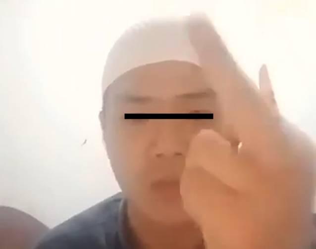 Pemuda Viral yang Ancam Penggal  Polisi yang Menangkap HRS, Tak Berkutik saat Ditangkap