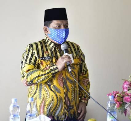 H. Fahmil,SE.,ME Kembali Terpilih Menjabat Ketua Tagana Kabupaten Kampar