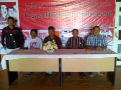 Koaliasi Partai Pengusung Bersinergi Dengan Relawan Merah Putih Bengkalis  Memenangkan Jokowi-JK