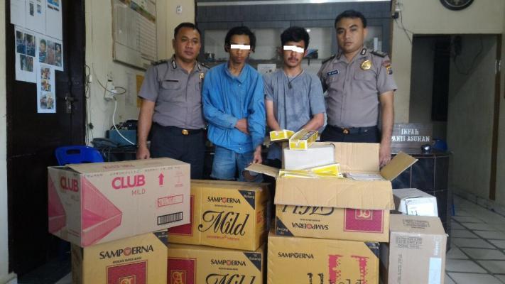 Kurang Dari 24 Jam, Pelaku Pembobolan Toko di Rohil Berhasil Diringkus