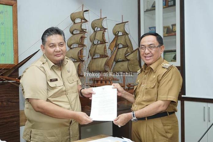 Bupati HM.Wardan tetapkan Afrizal sebagai Komisaris dan Amirudin Sebagai Direktur Umum dan Keuangan PT.KIG