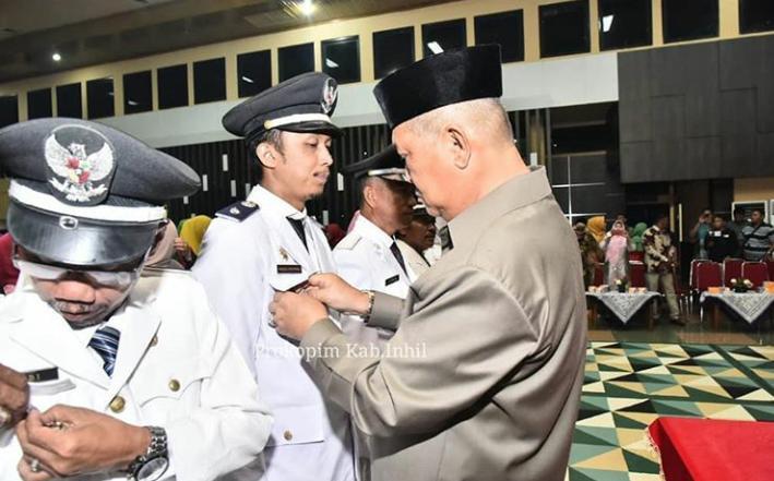 Wakil Bupati Inhil Lantik 333 Dan Mengukukan Pejabat Eselon IV