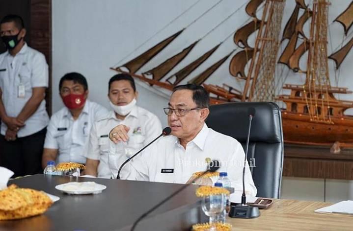 HM Wardan Exspose Pengelelolaan Pelabuhan Parit 21