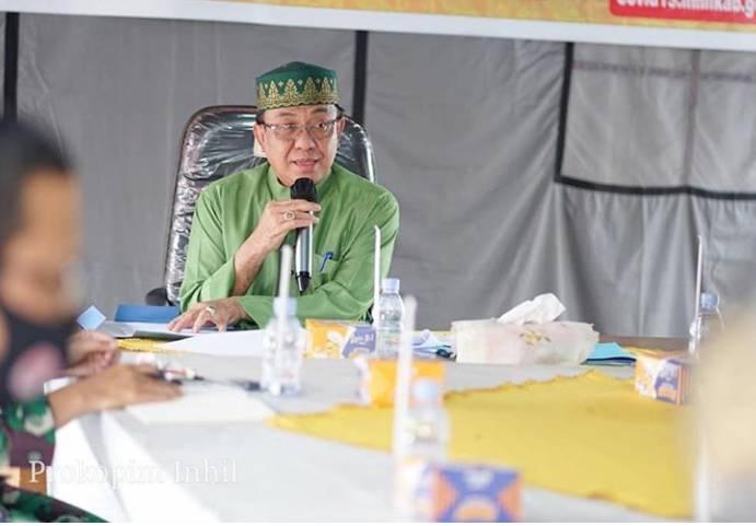 Kabupaten Indragiri Hilir Akan Tingkatkan Disiplin Protokoler Kesehatan
