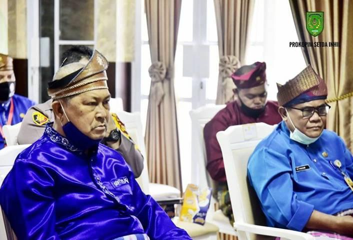 Wabup Inhil H.Syamsuddin Uti Ikuti Rapat Paripurna DPRD Milad Riau Ke-63 Secara Virtual.