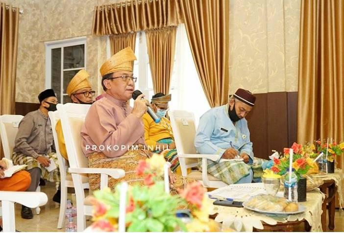 Bupati Inhil HM Wardan Jadi Narasumber Diskusi Online dengan Sawit Watch