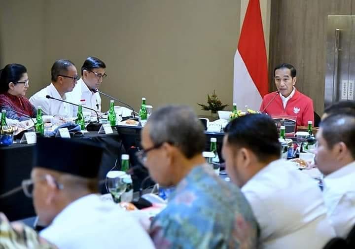Bupati Indragiri Hilir Hadiri Rapat Bersama Dengan Presiden Jokowi Dodo