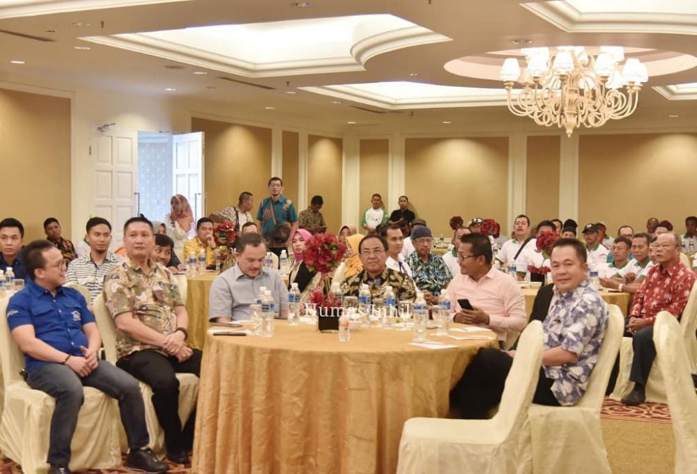 Bupati Inhil HM Wardan Dengan Kampung Berseri Mampu Meningkatkan Perekonimian Masyarakat